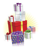 Lots of presents concept Stock Images