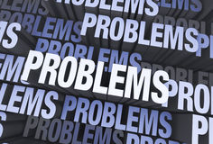 Lots of Problems Stock Photography