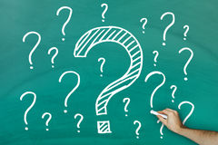 Lots of questions Stock Image