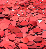 Lots of Red valentines hearts Royalty Free Stock Images