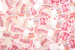 Lots of Renminbi Royalty Free Stock Photos