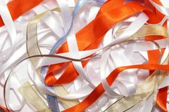 Lots of ribbons Stock Photography