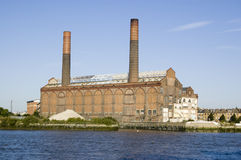 Lots Road Power Station, London Royalty Free Stock Photos