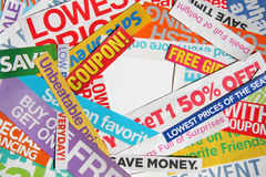 Lots of sale blurbs. It is  lots of sale blurbs Royalty Free Stock Photos