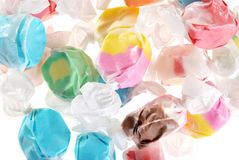 Lots of salt water taffy Stock Photography