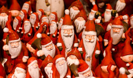 Lots of Santas Royalty Free Stock Image