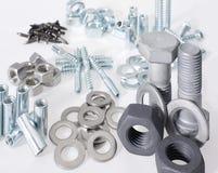 Lots of screws Stock Photo