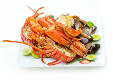 Lots of Sea Food Royalty Free Stock Photography
