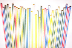 Lots of straws Stock Images