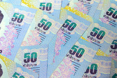 Lots of Thai Banknote. Stock Images
