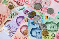 Lots of thai money Stock Images