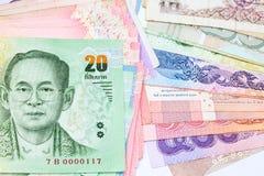 Lots of thai money Stock Photos