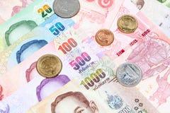 Lots of thai money Stock Photo