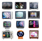 Lots of tvs. A collection of retro televisions Stock Image