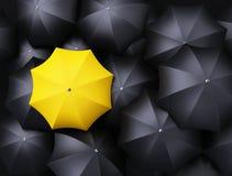 Lots of umbrellas Royalty Free Stock Photo
