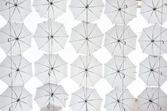 Lots of umbrellas Royalty Free Stock Image