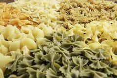 Types of pasta Stock Image
