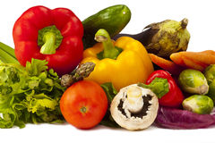 Lots of Vegetables Stock Photos