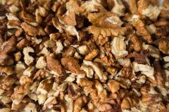 Lots of walnut kernels Royalty Free Stock Photos