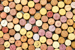 Lots of wine corks Stock Photo