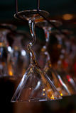 Lots of wine glasses Royalty Free Stock Photography