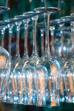 Lots of wine glasses Royalty Free Stock Image
