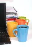 Lots of work? Take a break! Stock Photos