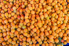 Lots of yellow peaches Royalty Free Stock Images