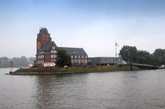 Lotsen house in Hamburg Royalty Free Stock Photo