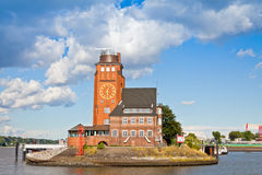 Lotsenhaus Seemannshoft (Pilot house) in the port of Hamburg, Ge Royalty Free Stock Image