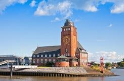 Lotsenhaus Seemannshoft (Pilot house) in the port of Hamburg, Ge Royalty Free Stock Photos