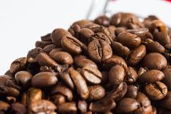 Lott av kaffe Royaltyfria Foton