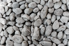 Lott av kiselstenar omkring, stor sten Royaltyfria Foton