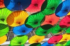 Lott av paraplyet Royaltyfria Foton