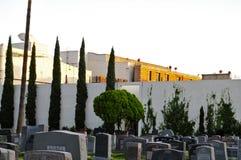 Lott för Paramount studio` s och Hollywood för evigtkyrkogård royaltyfria bilder