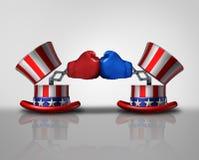 Lotta americana di elezione illustrazione di stock