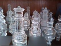 Lotta di scacchi Fotografia Stock Libera da Diritti
