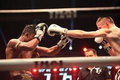 LOTTA TAILANDESE 2012, giro finale immagine stock libera da diritti