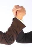 Lottare di braccio Fotografie Stock Libere da Diritti