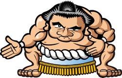 Lottatore di sumo Immagine Stock Libera da Diritti