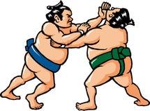Lottatore di sumo Fotografie Stock Libere da Diritti