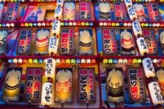 Lottatore variopinto di sumo fotografia stock libera da diritti