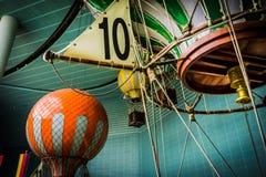 Lotte世界冒险-浮升员气球乘驾 库存照片