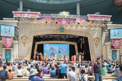 Lotte世界,一个著名娱乐主题乐园在汉城 免版税库存照片