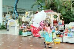 Lotte世界amusment公园在韩国 图库摄影