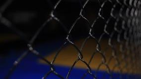 Lotte del Muttahida Majlis-E-Amal della gabbia Primo piano video d archivio