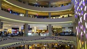 Lotte Shopping Mall em Busan, Coreia do Sul video estoque