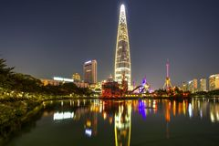 Seoul city, Korea Royalty Free Stock Photo