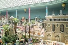 Lotte World, een beroemd park van het vermaakthema in Seoel Stock Afbeelding