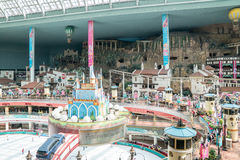 Lotte World, a famous amusement theme park at Seoul. Royalty Free Stock Images